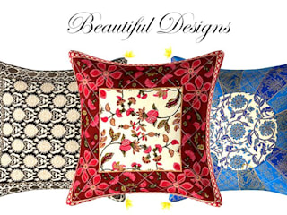 Designer Sofa Covers Bearing Rajasthani Art is Worth Buying: classic  by Jaipur Fabric,Classic