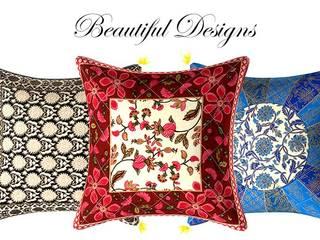 Cotton Cushion Cover:   by Jaipur Fabric