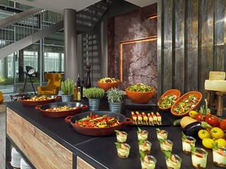 Buffetstation:  Hotels von harry & friends design manufactory gmbh
