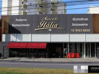 Mercado Italia Bakery: Espaços gastronômicos  por VITOR FERNANDO Architecture