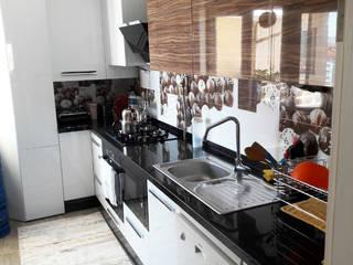 Lia Mimarlık İçmimarlık – Bülent Özkan Evi: modern tarz Mutfak