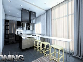 Kitchen by Zoning Architects, Modern