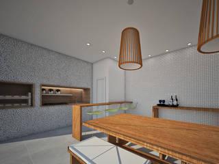 Balcones y terrazas modernos de Studio Bossa Decoração de Interiores Moderno