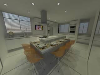 de Studio Bossa Decoração de Interiores Ecléctico
