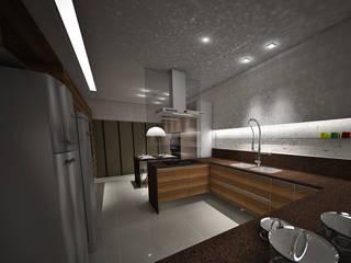 Cocinas de estilo ecléctico de Studio Bossa Decoração de Interiores Ecléctico