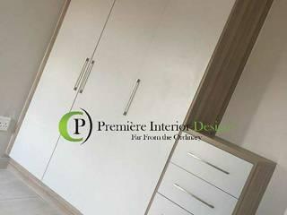 Première Interior Designs BedroomWardrobes & closets Grey