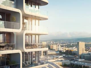 Condominio in stile  di JLL Residential Development
