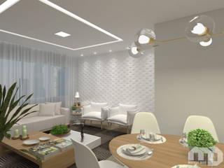 Modern living room by Mateus Dias Arquitetura Modern
