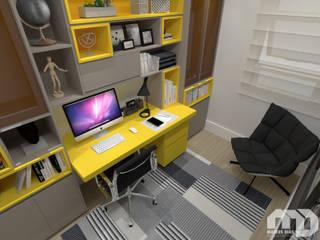 Escritório |Apartamento MG| Escritórios modernos por Mateus Dias Arquitetura Moderno