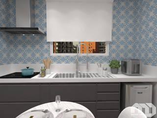 Cozinha |Apartamento MG| por Mateus Dias Arquitetura Moderno