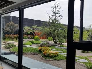 台中庭園私宅 根據 水湘景觀設計 現代風