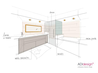 ADIdesign* studio BathroomBathtubs & showers