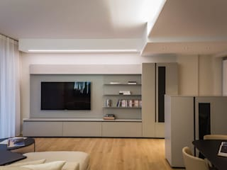 Minimalist living room by ADIdesign* studio Minimalist