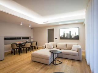 Salas / recibidores de estilo minimalista por ADIdesign*  studio