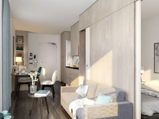 Soggiorno in stile  di JLL Residential Development