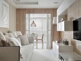 APARTAMENTO LEBLON Salas de jantar modernas por Lana Rocha Interiores Moderno