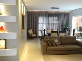 Residência Paineiras Salas de estar modernas por Ambiento Arquitetura Moderno