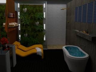 Cuba de Piso Banheiros modernos por STUDIO SPECIALE - ARQUITETURA & INTERIORES Moderno