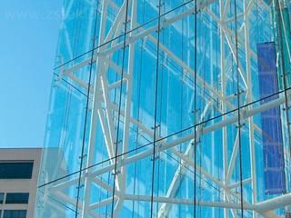 Edificios de oficinas de estilo moderno de Zстекло Moderno