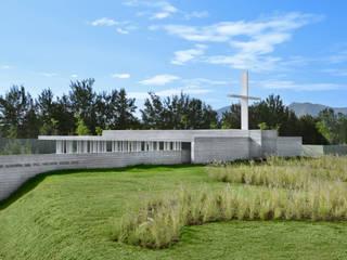 Capilla Filamentario Casas minimalistas de Di Vece Arquitectos Minimalista
