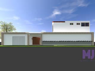 Casa L+J: Casas unifamiliares de estilo  por MJ Arquitectura e Interiorismo