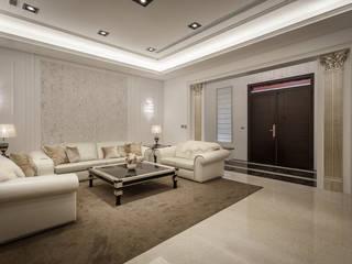 自地自建_獨棟別墅 根據 澤序空間設計有限公司 古典風