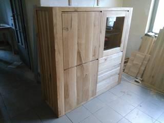 Zestaw mebli drewnianych od NaLata - Meble Drewniane, Ariel Młotkowski Klasyczny