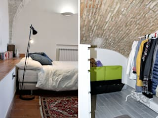 Modern Bedroom by Architetto Luigia Pace Modern Bricks