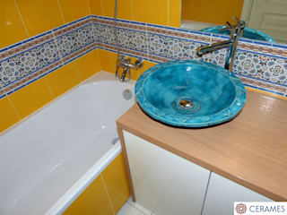 Cerames Classic style bathrooms Turquoise