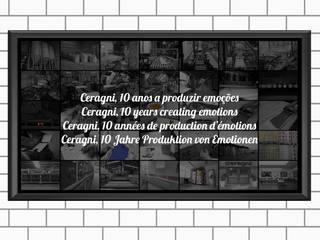 Cover photos Espaços comerciais modernos por Ceragni Moderno