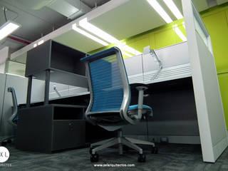 Ruang Kerja oleh SXL ARQUITECTOS, Modern