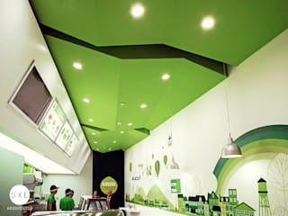 Restoran oleh SXL ARQUITECTOS, Modern