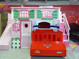 de camas y literas infantiles kids world Clásico Derivados de madera Transparente