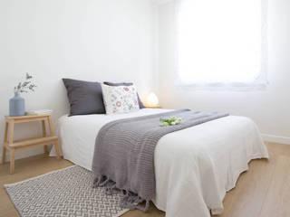 DORMITORIO DESPUÉS HOME STAGING:  de estilo  de HOME AND EMOTION