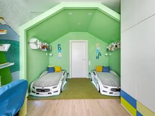 Палатка в лесу: Детские комнаты в . Автор – Школа Ремонта, Модерн