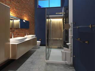 Salle de bains de style  par AT The Studio, Industriel