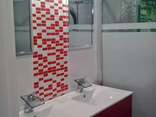 Amueblamiento para pisos en Palencia: Baños de estilo  de MUEBLES GATON VALLE, amueblamiento de espacios en Palencia  hacemos que los ambientes que den acogedores con encanto y un estilo diferente