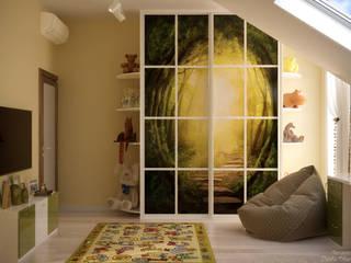 Minimalistische Kinderzimmer von Студия интерьерного дизайна happy.design Minimalistisch