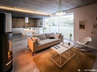Salon moderne par ARCHIWYTWORNIA Moderne