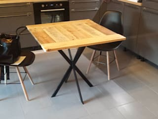 Table de cuisine: Cuisine de style de style Industriel par amour de palette création