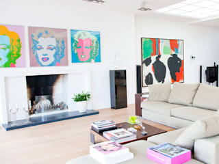 Archstudio Architecten | Villa's en interieur Minimalist living room White