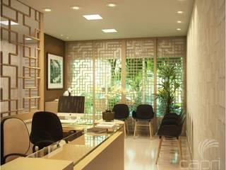 診所 by Lúcia Vale Interiores, 現代風