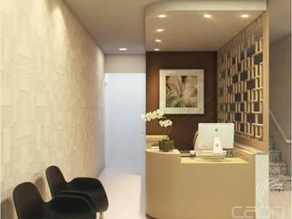 Clínicas modernas por Lúcia Vale Interiores Moderno