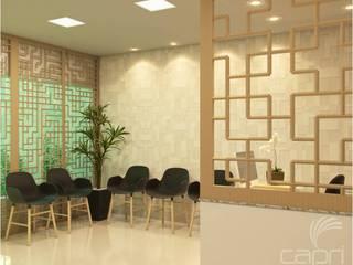 Consultório Clínicas modernas por Lúcia Vale Interiores Moderno