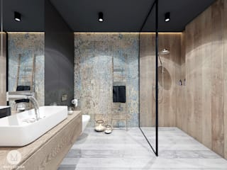Industrial style bathroom by MADO DESIGN Industrial