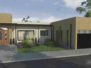 Casa JG : Casas unifamiliares de estilo  por Borio Arquitectura y Diseño
