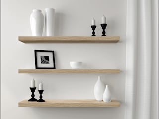 Wall Shelves por Regalraum UK