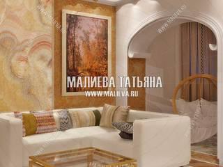 Гостиная-лоджия:  в . Автор – Частный Дизайнер интерьеров Малиева Татьяна