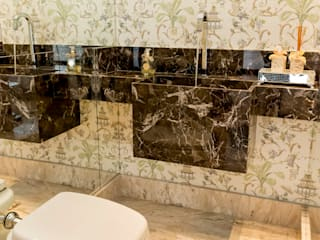 Lavabo : Banheiros  por Isa Ramoni Arquitetura