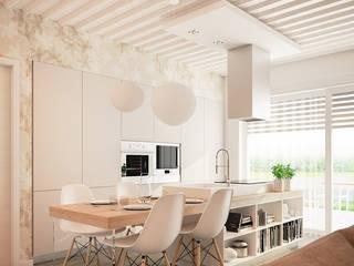Marlegno Modern Kitchen Wood White